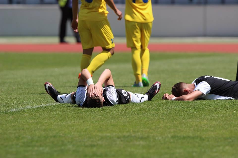 """U"" Cluj a retrogradat în Liga a III-a / Foto: Dan Bodea"