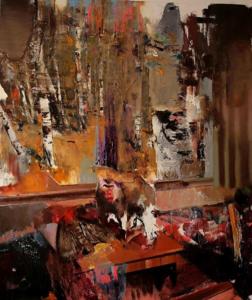 """The Hunted"" de Adrian Ghenie"