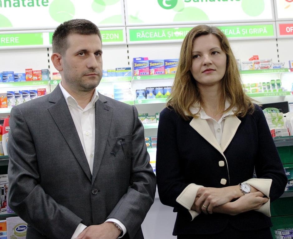 Sabin și Elena Funar/ Foto: Dan Bodea