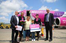 Wizz Air sărbătorește șase milioane de pasageri  în Cluj-Napoca