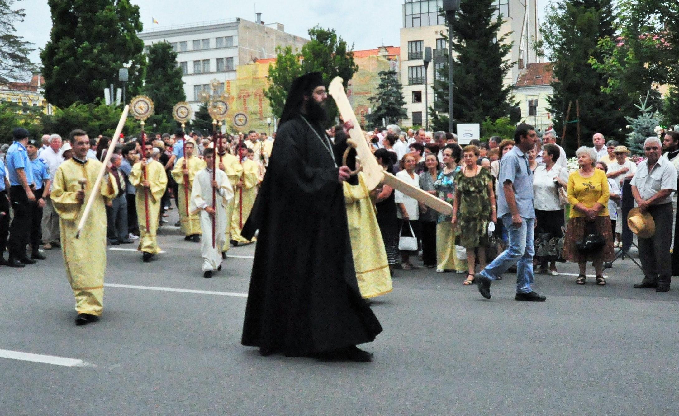 procesiune rusalii