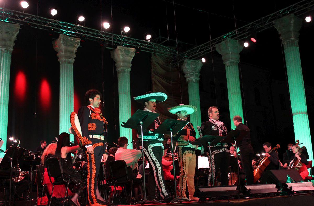 """Concertul de muzică spaniolă """"La Negra Noche""""/Foto: Dan Bodea"""