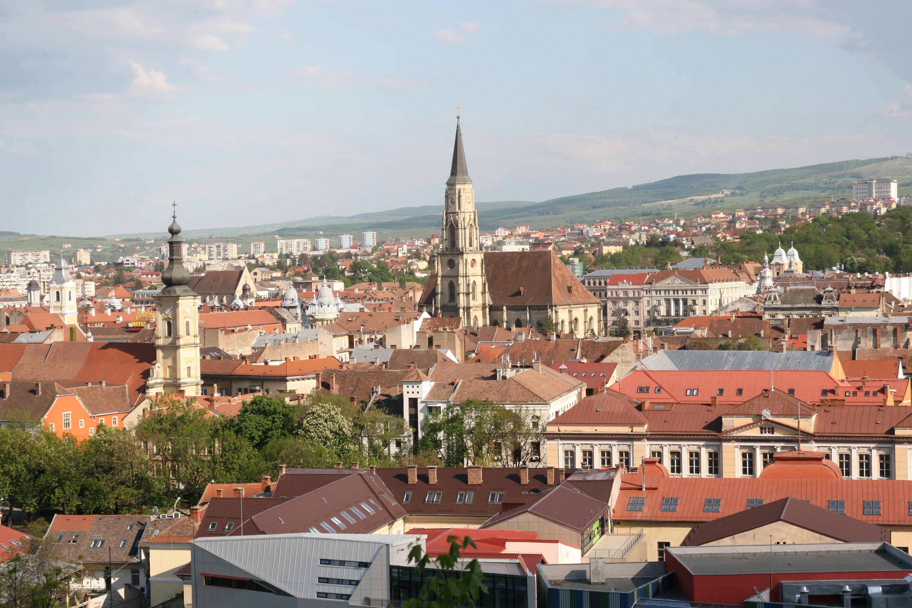 Clujul, de pe Cetatuie