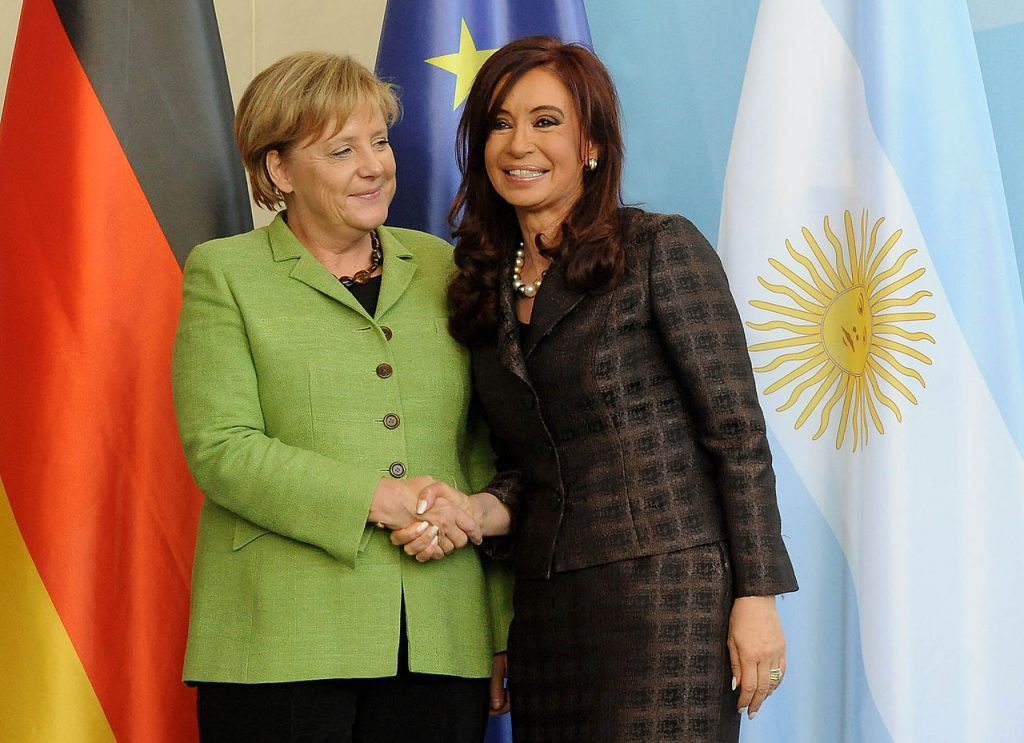 Angela Merkel și Cristina Kirchner