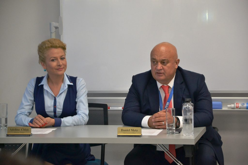 Adelina Chișu și Daniel Metz/ Foto: Maria Man