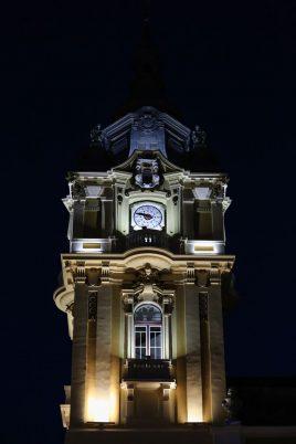 turnul primariei noaptea