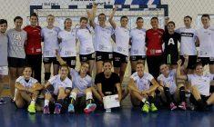 """Cu două victorii și o înfrângere, """"U"""" Cluj s-a clasat a doua la tradiționalul turneu de handbal feminin Memorialul """"Tiberiu Rusu""""/ Foto Dan Bodea"""
