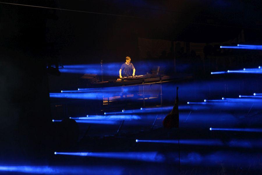 Martin Garrix a concertat la Untold în ultima zi a festivalului (Foto: Dan Bodea)