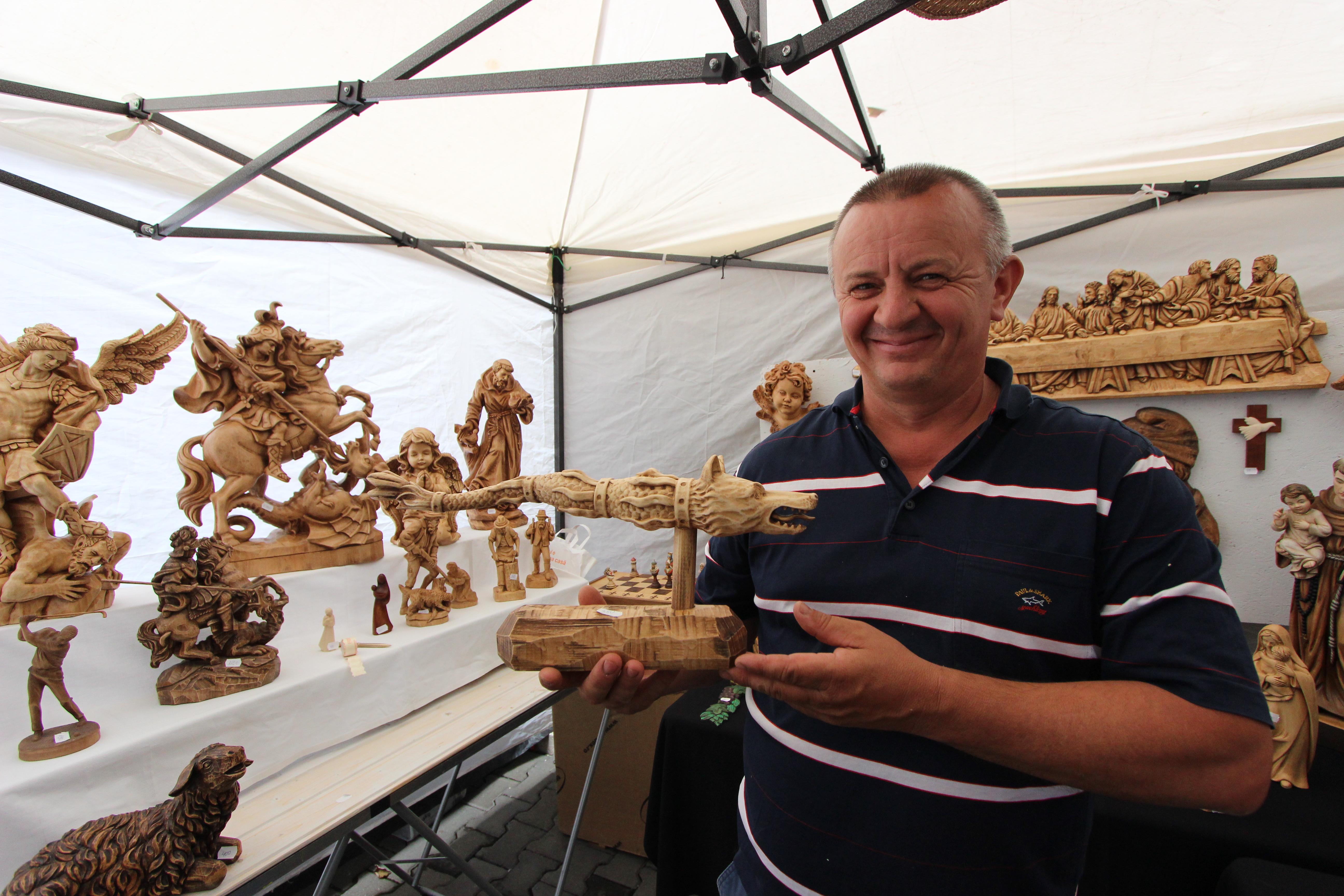 Emil Milășan, sculptor/ Foto: Dan Bodea
