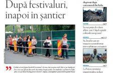 Nu ratați noul număr Transilvania Reporter: După festivaluri, înapoi în șantier