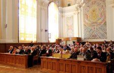 La lucrările congresului participă 450 de istorici. Deschiderea a avut loc în Aula Magna |  Foto: Dan Bodea