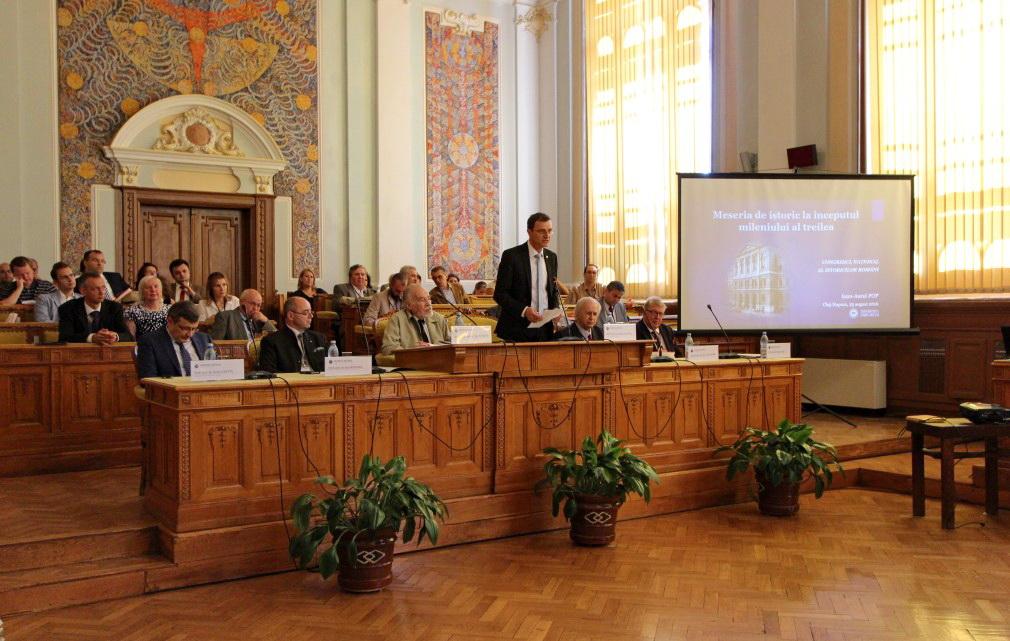 Deschiderea Congresului Național al Istoricilor Români | Foto:  Dan Bodea