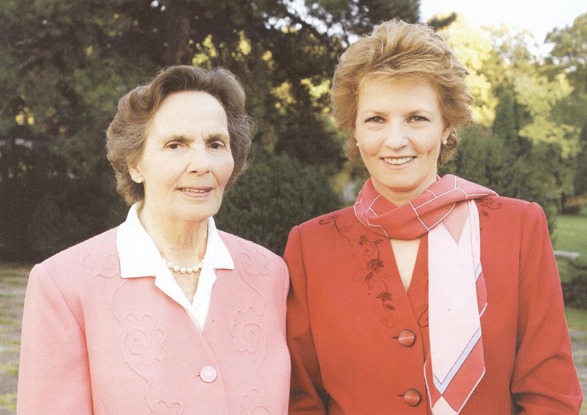 Regina Ana și Principesa Margareta