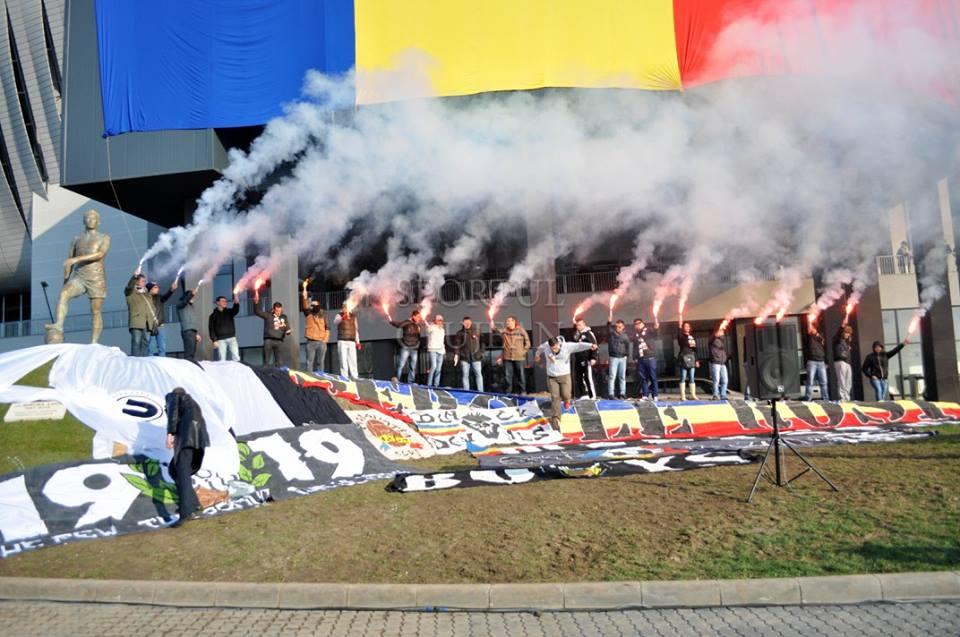 Pentru prima oară în istoria aproape centenară, Universitatea Cluj va evolua în Liga a IV-a / Foto: Dan Bodea
