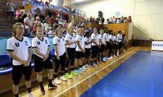 Echipa feminină de baschet Universitatea Cluj, cea mai titrată din România, cu 14 titluri în palmares, este pregătită să triumfe din nou în competiţia internă, după 24 de ani / Foto: Dan Bodea