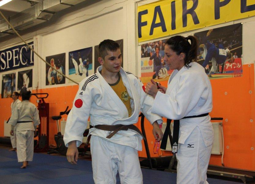 Judoka Alex Bologa, pregătit de Geanina Andreica, a adus prima medalie paralimpică la Cluj-Napoca / Foto: Dan Bodea