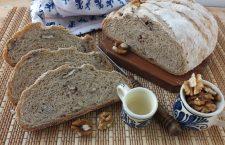 Rețeta săptămânii: Pâine de casă cu nuci