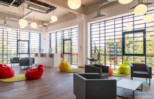 Sala de relaxare din birourile din Liberty Technology Park Cluj
