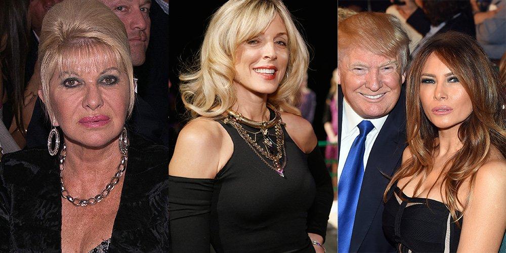 cele trei neveste ale lui Trump