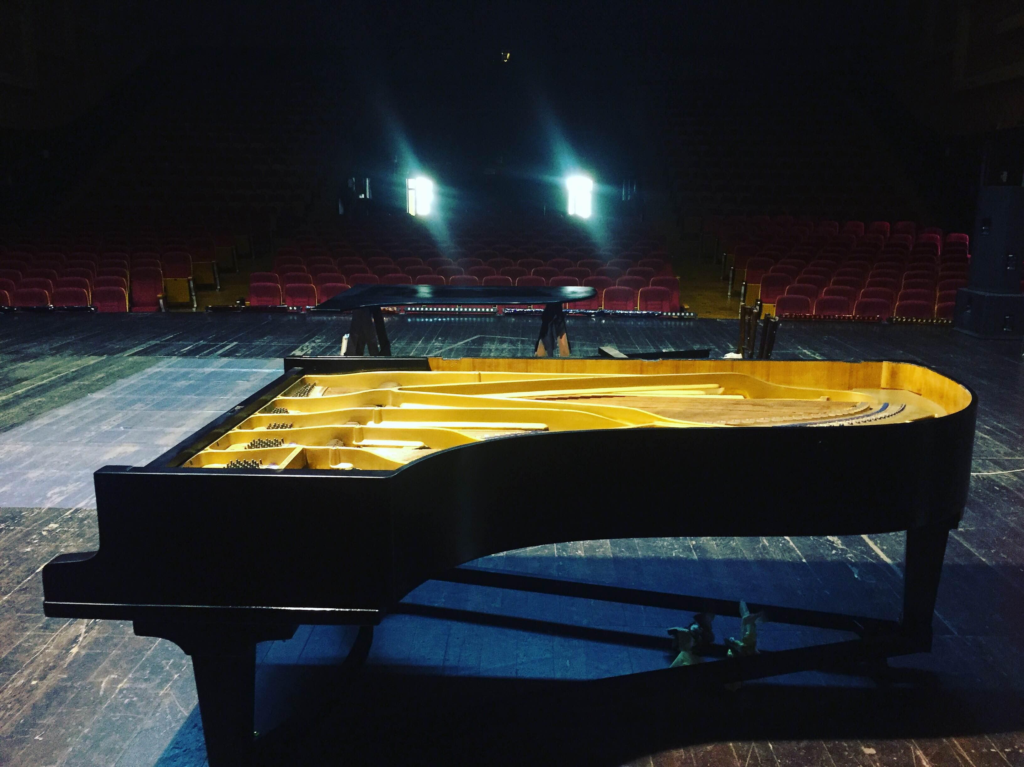 Recondiționat prin campania #1banpentrupian,   în august 2016,   Blüthner Grand Piano are acum clape și ciocănele noi,   sunet cristalin și vivace,   straie noi și-o strălucire aparte.