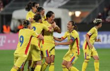 România a învins Grecia cu 4-0, la Cluj-Napoca, într-un meci din faza grupelor de calificare la Euro 2017 și va disputa baraj cu Portugalia pentru a fi prezentă anul viitor în Olanda / Foto: Dan Bodea