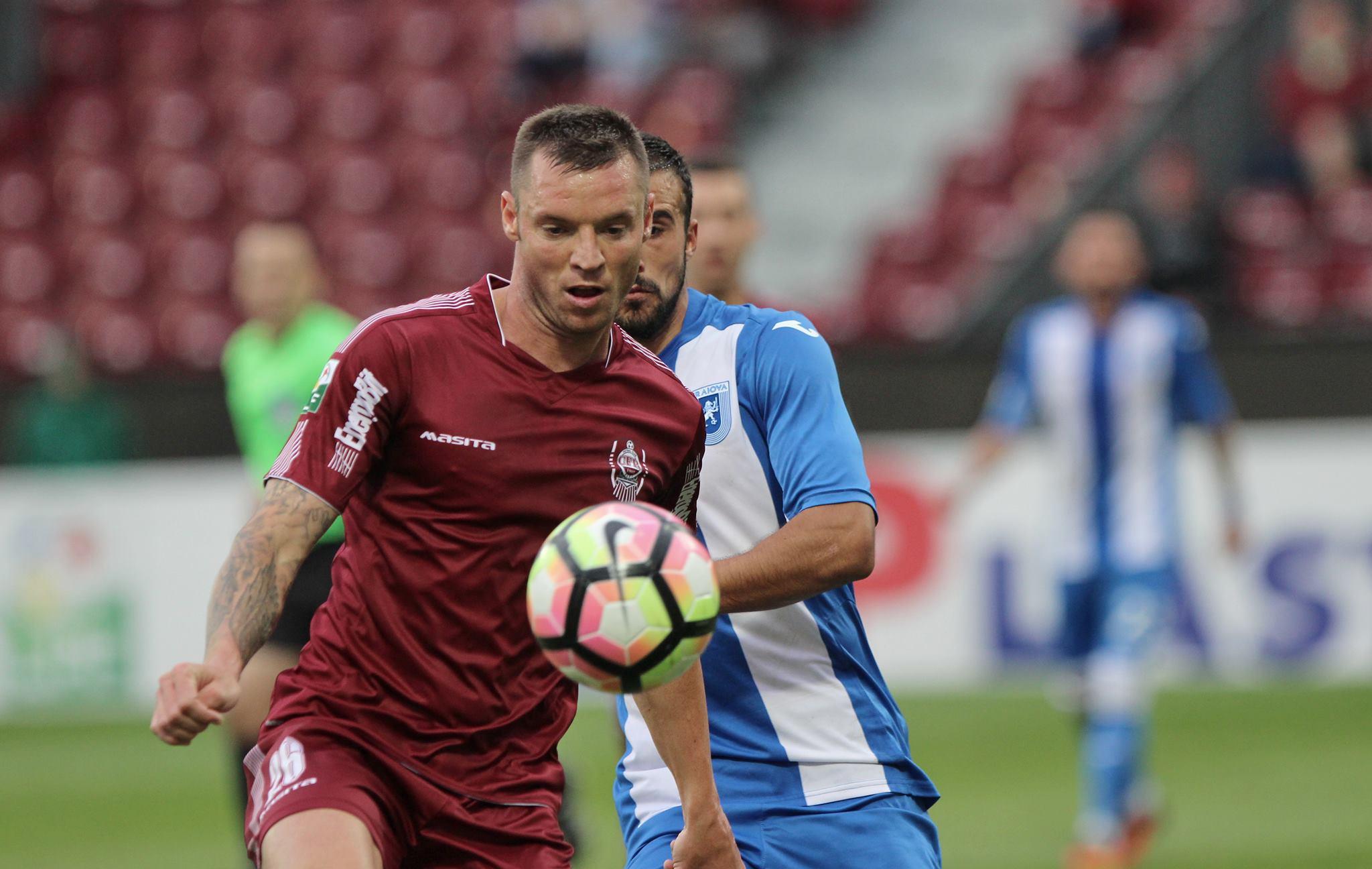 Autor a două goluri în meciul cu Steaua, Cristian Bud a ajuns la cota 6, în clasamentul golgheterilor din Liga 1 / Foto: Dan Bodea