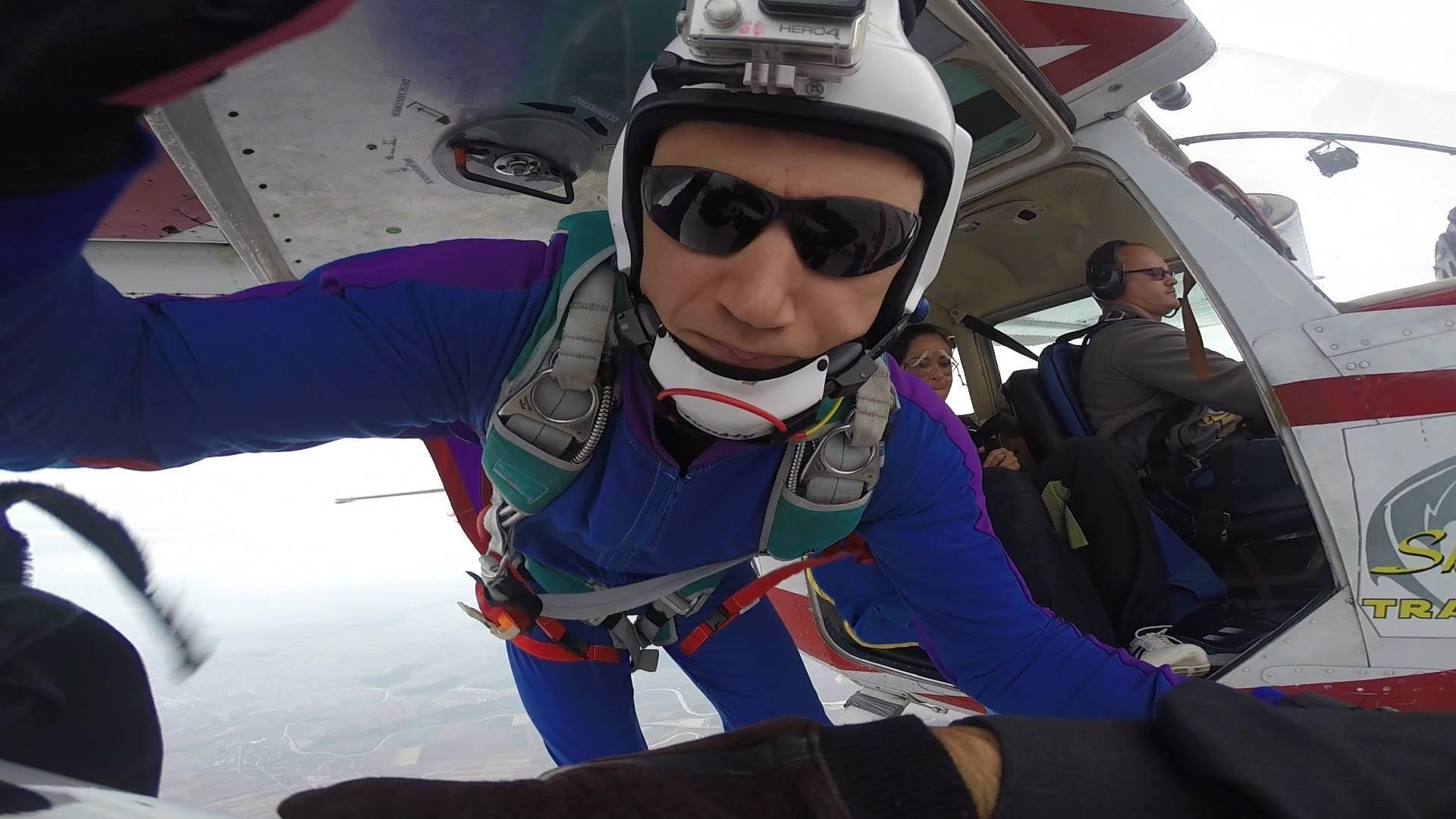 Vlad Lupaș avea peste 400 de salturi la activ (Sursă foto: Facebook Robert Nagy)