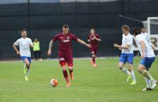Cristi Bud a marcat și în meciul cu Viitorul Constanța și rămâne golgheterul CFR-ului în acest campionat / Foto: Dan Bodea