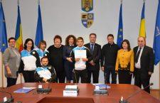 Sportivul paralimpic Alexandru Bologa, premiat pentru performanța de la Rio