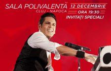 Ștefan Bănică va susține primul concert extraordinar de Crăciun din Cluj-Napoca