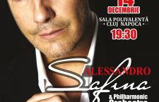 Cel mai popular tenor al lumii, Alessandro Safina, va concerta la Cluj, în luna decembrie