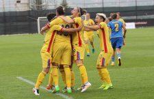 După 0-0 în manșa tur a barajului cu Portugalia, echipa națională feminină de fotbal a României joacă la Cluj, săptămâna viitoare, pentru prima calificare la Euro / Foto: Dan Bodea