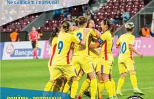 """Naționala de fotbal feminin scrie istorie! Vino să încurajezi din tribune """"tricolorele"""" la meciul decisiv cu Portugalia și le poți însoți la Euro 2017!"""