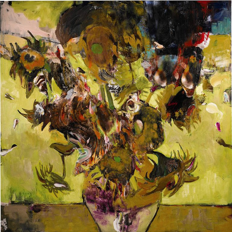 Sunflowers in 1937/Adrian Ghenie