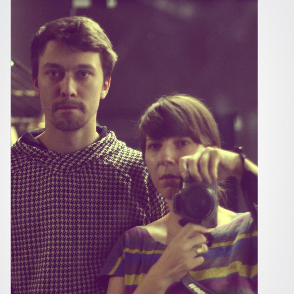 Adina Lazăr,   alături de Andrei Măjeri/Arhiva personală