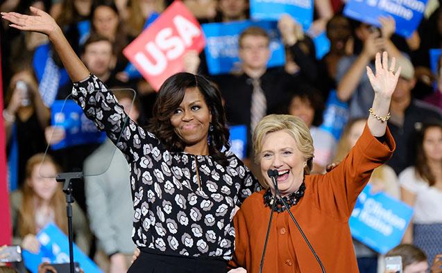 În ultimele zile,   Michelle Obama a participat la evenimente electorale alături de Hillary Clinton,   candidatul Partidului Democrat la funcţia de preşedinte al Statelor Unite. Însă preşedintele Barack Obama a subliniat că soţia sa nu intenţionează să fie vreodată candidat la preşedinţie.