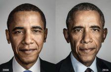 Barack Hussein Obama al II-lea este al 44-lea şi actualul Preşedinte al Statelor Unite ale Americii,   fiind primul afro-american ales în această funcţie,   în urma alegerilor prezidenţiale din 4 noiembrie 2008. A fost învestit în funcţie la 20 ianuarie 2009 şi l-a înlocuit pe predecesorul său George W. Bush. În 2012,   a fost reales,   rămânând astfel în funcţie pentru încă 4 ani. / Foto: New York Magazine