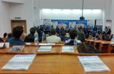 Finala are loc în Aula Facultății de Științe Economice | Foto: Bogdan Stanciu
