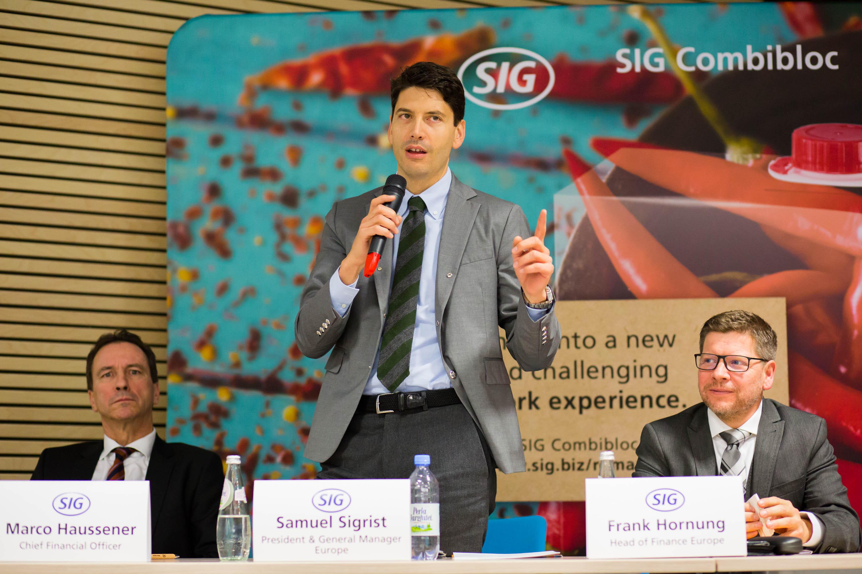 Samuel Sigrist, President & General Manager Europe