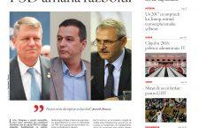 """Nu rataţi noul număr Transilvania Reporter: """"PSD amână războiul"""""""