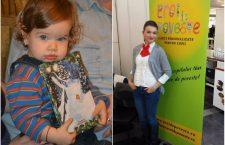 Antonia (foto stânga) a primit o carte personalizată de la  Moș Crăciun, iar Moșul a dăruit în același timp o carte personalizată un altui copil mai puțin norocos.  Totul este posibil prin intermediul campaniei Eroi de Poveste , demarată de Andra (foto dreapta)