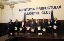 Parlamentarii clujeni şi-au primit certificatele doveditoare