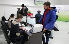 Aproape 3.000 de clujeni și-au creat carduri de utilizator de la deschiderea din 2 decembrie 2016 a Bazei Sportive Gheorgheni / Foto: Dan Bodea
