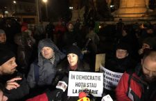 250 de clujeni au protestat față de Ordonanța privind grațierea și modificarea Codului Penal