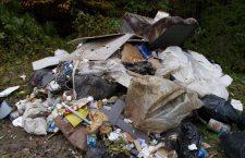 Amendă de 2500 de lei pentru depozitarea ilegală de deşeuri