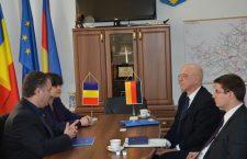 Noul Ambasador al Germaniei, în vizită la Consiliul Judeţean Cluj