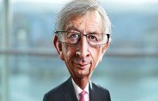 Jean-Claude Juncker, caricatură de DonkeyHotey | Flickr (c) CC BY 2.0