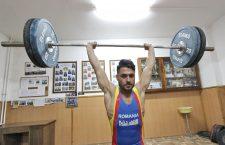 Ilie Ciotoiu a cucerit două medalii de bronz la CE de haltere de la Split, acestea fiind primele medalii internaționale din 2017 pentru sportul olimpic clujean (foto Dan Bodea)