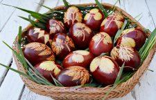 Cum să vopsim natural, oule de Paşti
