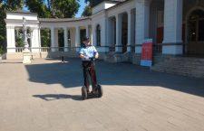 Poliţia Locală Cluj are un segway, care va fi folosit pentru a patrula în Parcul Central